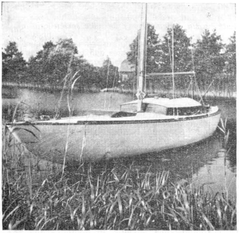En vacker båt